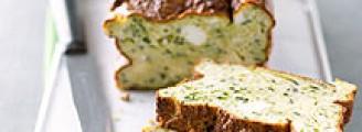 Cake aux pommes de terre et aux courgettes