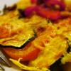 Gratin du sud : poivrons, tomates, courgettes et pommes de terre