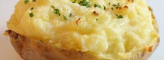 Pomme de terre gratinée à la moutarde