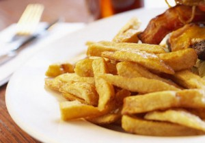 Frites traditionnelles maison