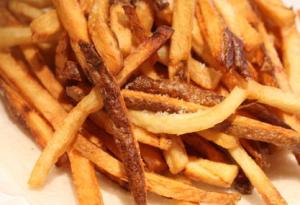 Pommes frites allumettes