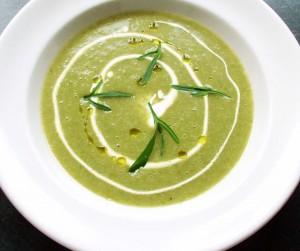 Potage (soupe) au cresson